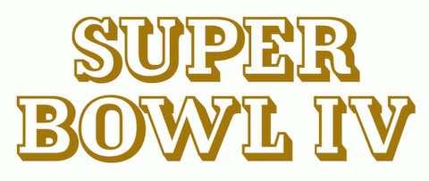 Super Bowl IV: Kansas City Chiefs 23 Minnesota Vikings 7 - MVP Chiefs QB Len Dawson