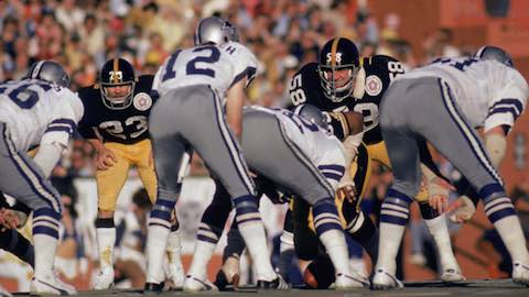Super Bowl X: Pittsburgh Steelers 21 Dallas Cowboys 17 - MVP Steelers WR Lynn Swann
