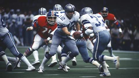 Super Bowl XII: Dallas Cowboys 27 Denver Broncos 10 - co-MVPs Randy White & Harvey Martin