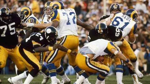 Super Bowl XIV: Pittsburgh Steelers 31 Los Angeles Rams 19 - MVP Steelers QB Terry Bradshaw