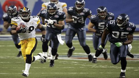 Super Bowl XL - Pittsburgh Steelers 21 Seattle Seahawks 10 - MVP Steelers WR Hines Ward