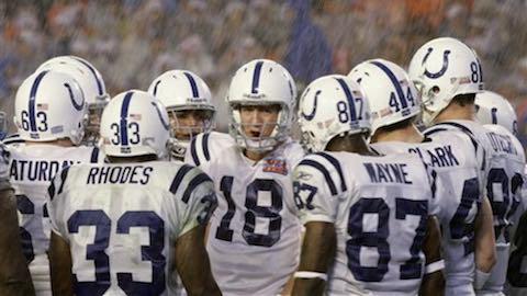 Super Bowl XLI - Indianapolis Colts 29 Chicago Bears 17 - MVP Colts QB Peyton Manning