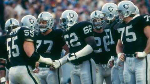 Super Bowl XVIII: Los Angeles Raiders 38 Washington Redskins 9 - MVP Raiders RB Marcus Allen