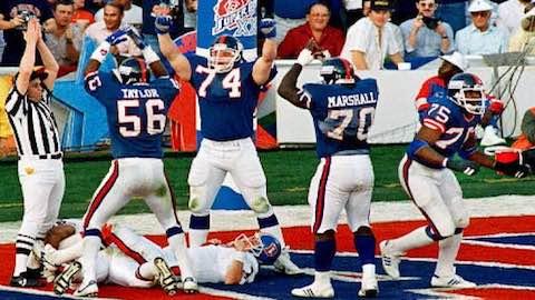 Super Bowl XXI - New York Giants 39 Denver Broncos 20 - MVP Giants QB Phil Simms