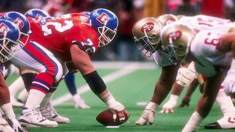 Super Bowl XXIV - San Francisco 49ers 55 Denver Broncos 10 - MVP 49ers QB Joe Montana