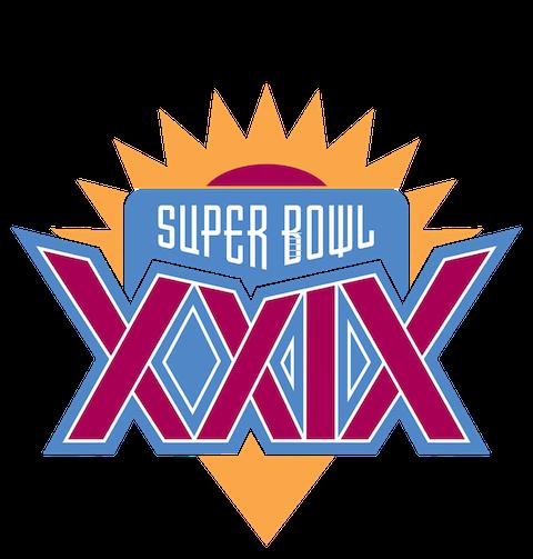 Super Bowl XXIX - San Francisco 49ers 49 San Diego Chargers 26 - MVP 49ers QB Steve Young