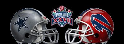Super Bowl XXVII - Dallas Cowboys 52 Buffalo Bills 17 - MVP Cowboys QB Troy Aikman