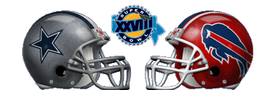 Super Bowl XXVIII - Dallas Cowboys 30 Buffalo Bills 13 - MVP Cowboys RB Emmitt Smith