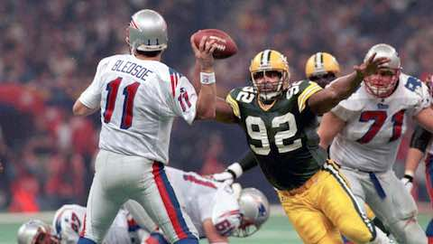 Super Bowl XXXI - Green Bay Packers 35 New England Patriots 21 - MVP Packers KR-PR Desmond Howard