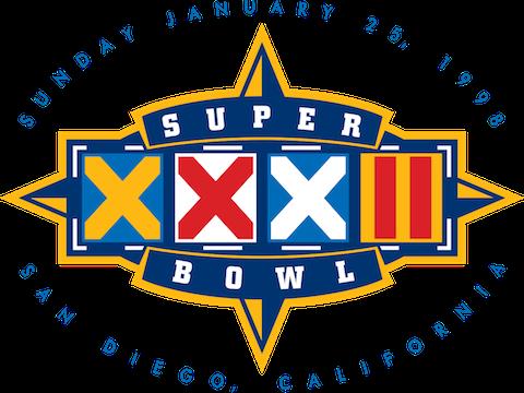Super Bowl XXXII - Denver Broncos 31 Green Bay Packers 24 - MVP Broncos RB Terrell Davis