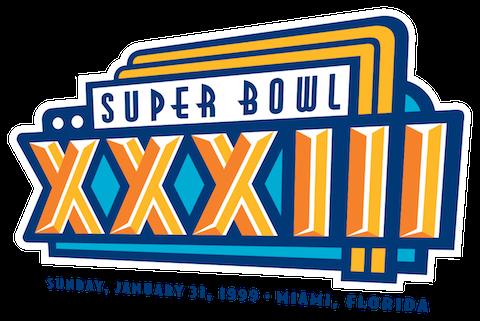 Super Bowl XXXIII - Denver Broncos 34 Atlanta Falcons 19 - MVP Broncos QB John Elway