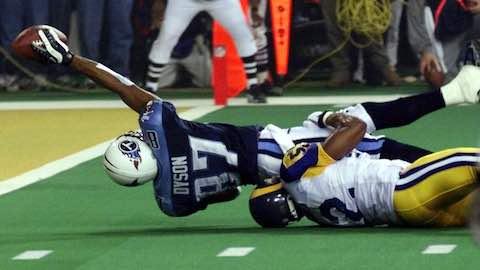 Super Bowl XXXIV - Saint Louis Rams 23 Tennessee Titans 16 - MVP Rams QB Kurt Warner