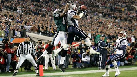 Super Bowl XXXIX - New England Patriots 24 Philadelphia Eagles 21 - MVP Patriots WR Deion Branch