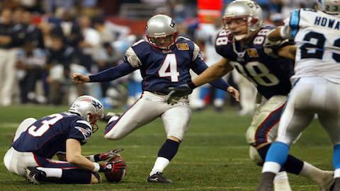 Super Bowl XXXVIII - New England Patriots 32 Carolina Panthers 29 - MVP Patriots QB Tom Brady