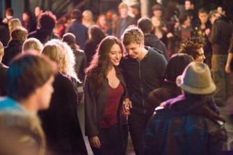 Nick & Norah's Infinite Playlist Starring Michael Cera, Kat Dennings,  Alexis Dziena, Ari Graynor, Aaron Yoo, Jay Baruchel  | Film Critic Michael Phillips Tasha Robinson Robert Abele   Reviews Nick & Norah's Infinite Playlist | Video