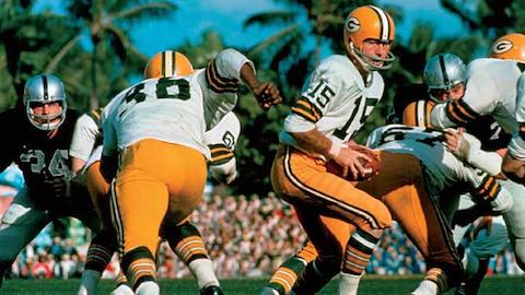 Super Bowl II MVP Bart Starr Green Bay Packers 33 Oakland Raiders 14