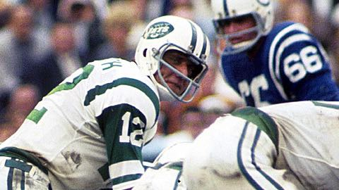 Super Bowl III: New York Jets 16 Baltimore Colts 7 Joe Namath MVP