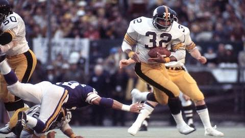 Super Bowl IX: Pittsburgh Steelers 16 Minnesota Vikings 6 MVP Franco Harris Pittsburgh Steelers