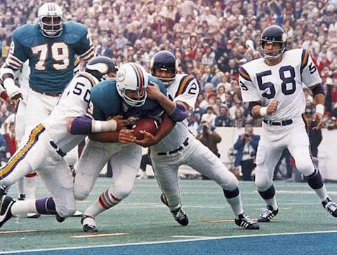 Super Bowl VIII MVP: Dolphins RB Larry Csonka