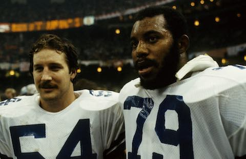 Super Bowl XII: Dallas Cowboys 27 Denver Broncos 10 | co-MVPs Randy White and Harvey Martin, Dallas Cowboys