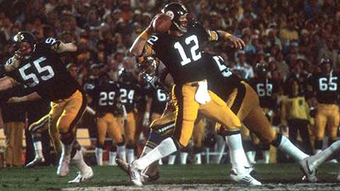 Super Bowl XIV: Pittsburgh Steelers 31 Los Angeles Rams 19 | MVP Terry Bradshaw, QB, Pittsburgh Steelers
