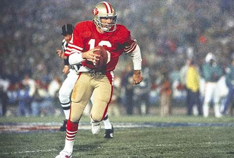 Super Bowl XIX MVP: 49ers QB Joe Montana