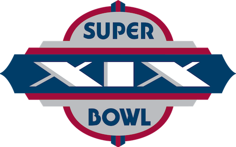 Super Bowl XIX - San Francisco 49ers 38 Miami Dolphins 16 - MVP 49ers QB Joe Montana