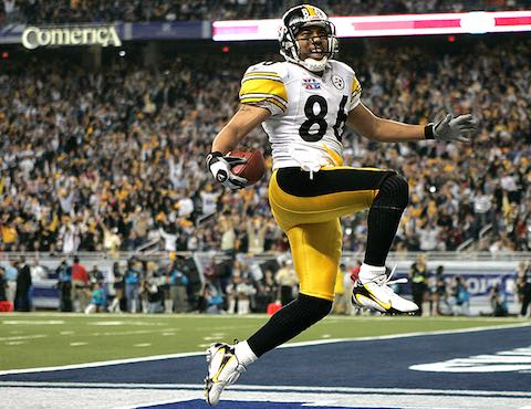 Super Bowl MVP XL Hines Ward Pittsburgh Steelers 21 Seattle Seahawks 10