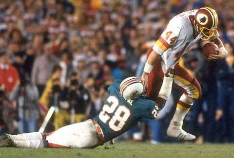 Super Bowl XVII: Washington Redskins  27 Miami Dolphins  17 | MVP John Riggins RB, Washington Redskins