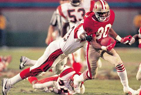 Super Bowl XXIII: San Francisco 49ers  20  Cincinnati Bengals  16  | MVP Jerry Rice, WR, San Francisco 49ers