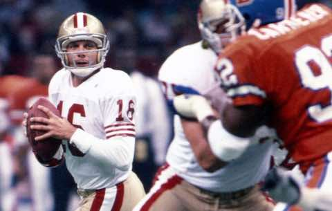 Super Bowl XXIV: San Francisco 49ers  55 Denver Broncos  10  | MVP Joe Montana, QB, San Francisco 49ers