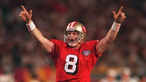 Super Bowl XXIX: San Francisco 49ers  49  San Diego Chargers  26  | MVP Steve Young, QB, San Francisco