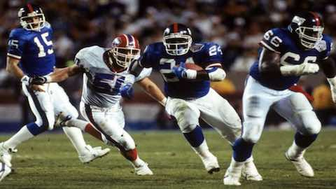 Super Bowl XXV: New York Giants  20 Buffalo Bills  19 | MVP Ottis Anderson RB New York Giants