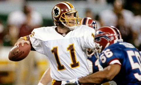 Super Bowl XXVI: Washington Redskins  37  Buffalo Bills  24  | MVP Mark Rypien, QB, Washington Redskins
