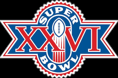 Super Bowl XXVI - Washington Redskins 37 Buffalo Bills 24 - MVP Redskins QB Mark Rypien
