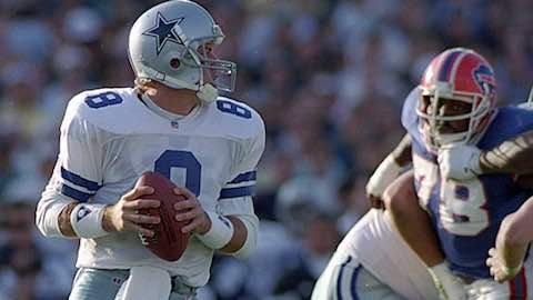 Super Bowl XXVII: Dallas Cowboys  52  Buffalo Bills  17  | MVP Troy Aikman, QB, Dallas Cowboys