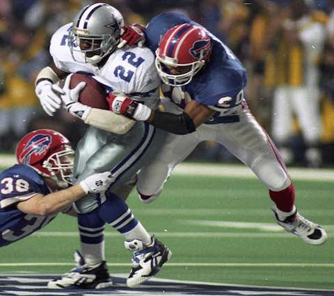 Super Bowl XXVIII: Dallas Cowboys  30  Buffalo Bills  13  | MVP Emmitt Smith, RB Dallas Cowboys