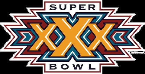 Super Bowl XXX: Dallas Cowboys 27 Pittsburgh Steelers 17   MVP Larry Brown, CB, Dallas Cowboys