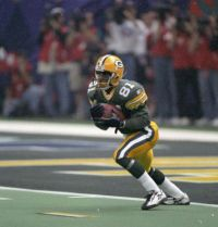 Super Bowl XXXI: Green Bay Packers  35  New England Patriots  21  | MVP Desmond Howard's 99-yard kickoff return for a TD