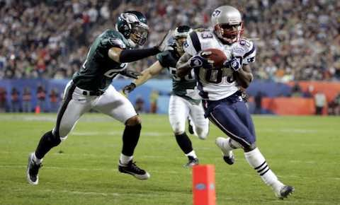 Super Bowl XXXIX: New England Patriots 24 Philadelphia Eagles 21 | MVP: Deion Branch, WR, New England Patriots
