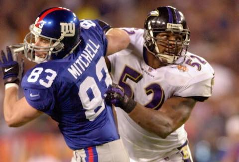 Super Bowl XXXV: Baltimore Ravens  34  New York Giants  7  | MVP: Ray Lewis, LB, Baltimore Ravens