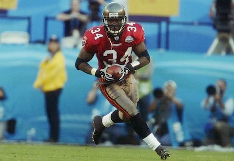 Super Bowl XXXVII MVP: Buccaneers Safety Dexter Jackson