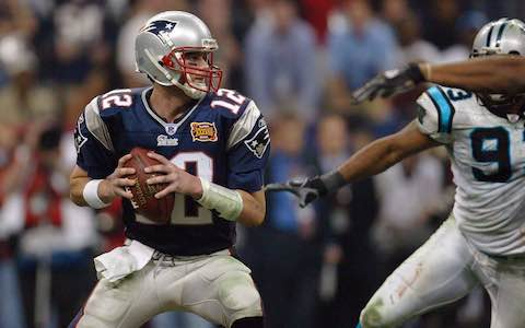 Super Bowl XXXVIII: New England Patriots  32  Carolina Panthers  29 | MVP: Tom Brady, QB, New England Patriots