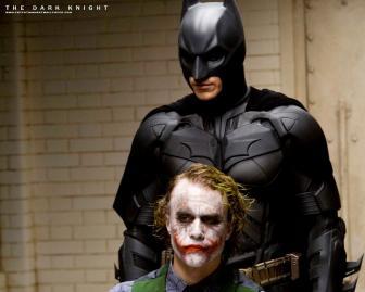 The Dark Knight Batman Movie Review on Video Starring Christian Bale as Batman and Heath Ledger as the Joker