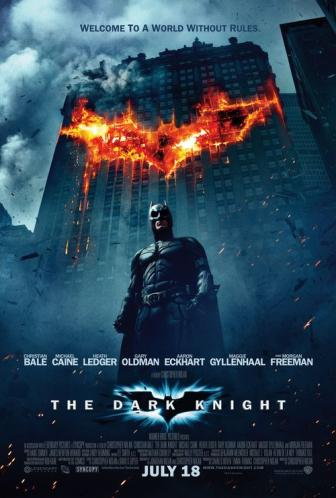 The Dark Knight Batman Movie Review on Video Starring Christian Bale as Batman and Heath Ledger as the Joker