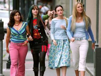 The Sisterhood of the Traveling Pants 2 Movie Review Starring America Ferrera, Amber Tamblyn, Blake Lively, Alexis Bledel  | Film Critic Michael Phillips Reviews The Sisterhood of the Traveling Pants 2
