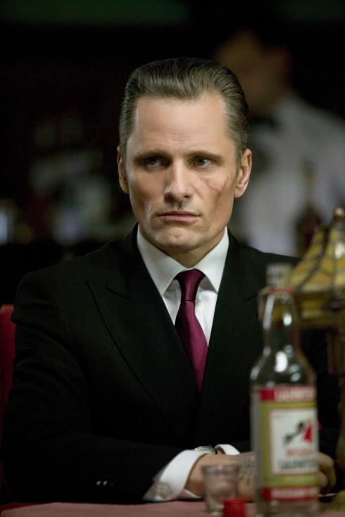 Performance by an actor in a leading role, Viggo Mortensen as Nikolai in Eastern Promises