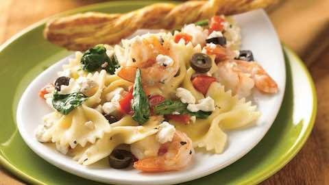 Mediterranean Shrimp & Pasta Salad   Recipe